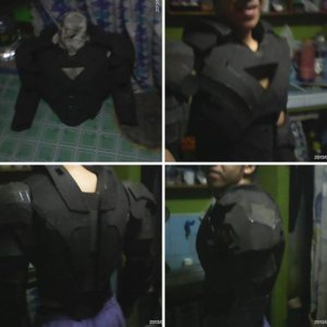 Ironman costume half part