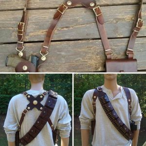 Uncharted 3 Holster & Bandolier