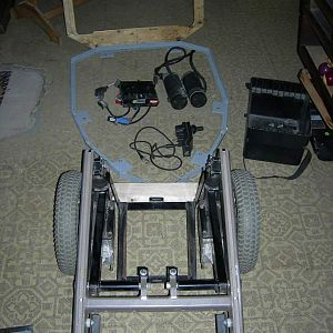Wheel chair and controller