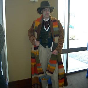 My 4th Doctor costume.