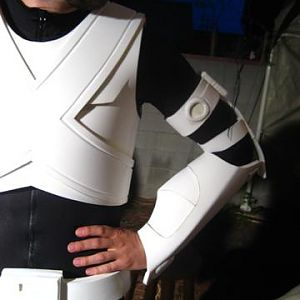 The front chest and arm, minis head piece.