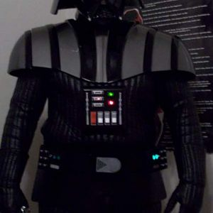 My vader get up as of now