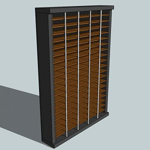 Atari Shelf - design for my custom game shelf.  I'll take a picture of the final product sometime.
