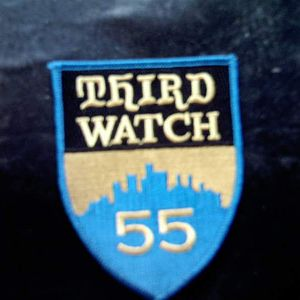 third watch patch made for production crews to wear on shirts, hats etc of the show