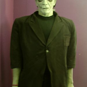 """I watched the origional """"Frankenstien"""" over and over to try and capture the stance and proportions that Boris Karloff possessed in the film."""