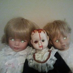 Another susan wakeen doll with eyes i bleached along with lizzie