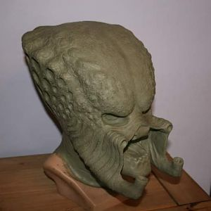 My 1st ever sculpt was a P1 open mouth mask.