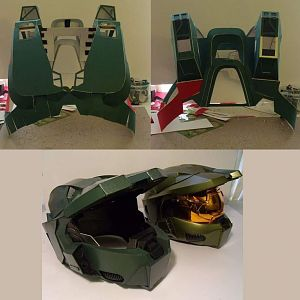 Unfinished MasterChief armor 2009