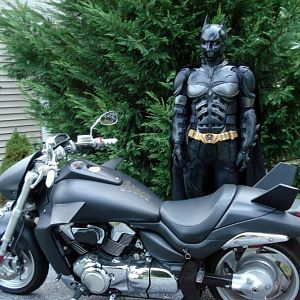 my bike and suit