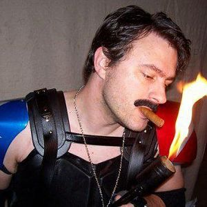 I made a working flamethrower for my Comedian costume.