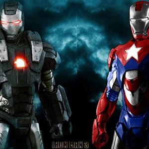 Iron Man 3 War Machine Iron Patriot Detriot Steel