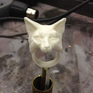 fox ring sculpt