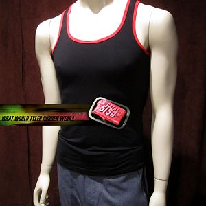 Black and Red Tank