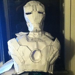 Mark 42 Chest, Back, Neck, and Helmet Complete Front view