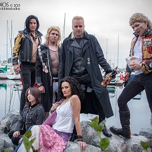 The Lost Boys #SDCC2013 #vampires #cosplay shot by Benn Robbins. #thelostboys