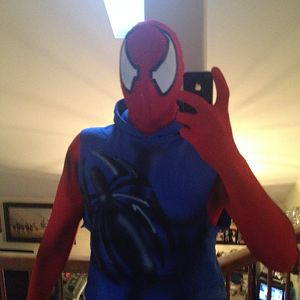 Scarlet Spider RedBlue