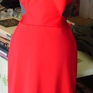 My first version of the Caprica Six red dress