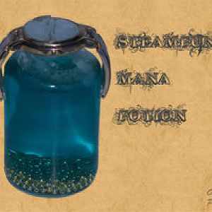 steampunk mana potion