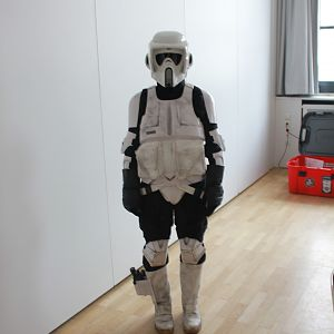 Star Wars: Return of the Jedi - Fully wearable Suit Replica