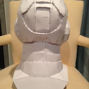 Helmet rear  and neck