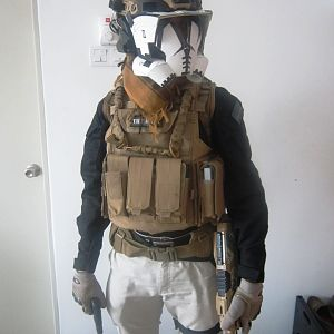 """The Alien Mk.2 Mercenary loadout, still not completed yet.......so here's the overview of """"If"""" the project managed to be finished and how will it look"""