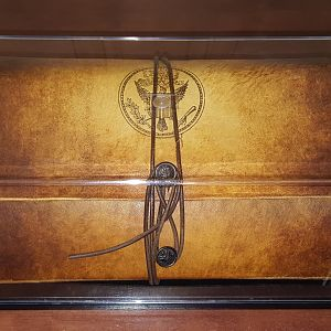 Production-made Book of Secrets prop by Ross MacDonald (from National Treasure 2: Book of Secrets)