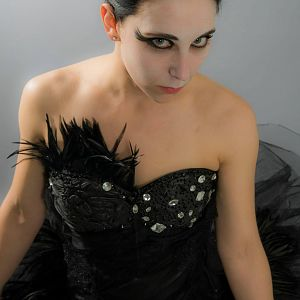 Black Swan costume made by me. Photo by Chris Auditore Photography.