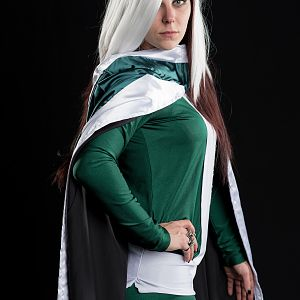 X-Men Legacy Rogue costume made by me. Photo by CONography.