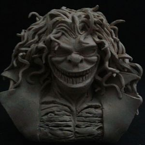 W.I.P. Evil Ernie Bust