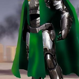 Dr Doom   Ironman suit