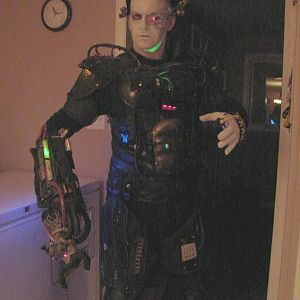 My Borg costume with some new upgrades