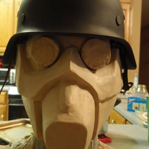 Never Finished Jin-Roh gas mask.  