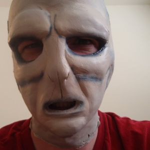 Painted Voldemort Mask.  V.1   Will redo this for D.con 2011.