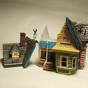 "Disney ""Up"" house sections"