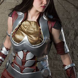 "Lady Sif from the Marvel film ""Thor""."