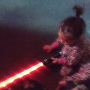 My Daughter is Strong with The Force.