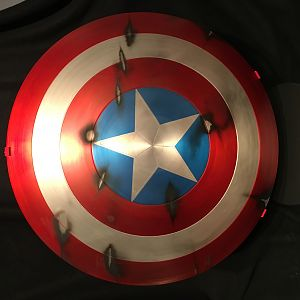 "Captain America ""The First Avenger"" Battle Shield