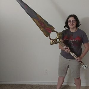 Certainty sword, finished