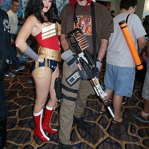 Clair Davis Wonder Woman Bri Kupfer Jayne Cobb FanboyExpo 26July2015