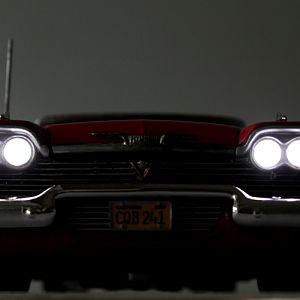 Christine, the murderous, demonic vehicle from the Stephen King novel.