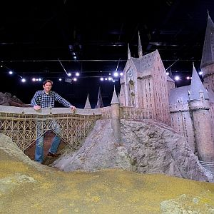 Hogwarts Castle Model accurate reference photos