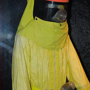 marty's yellow radioactive suit