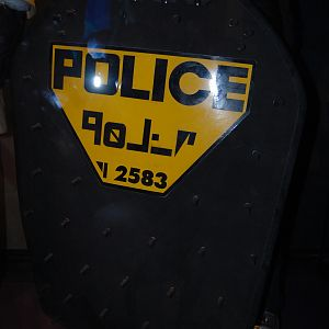 policeman shield