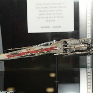 X-Wing model from Star Wars