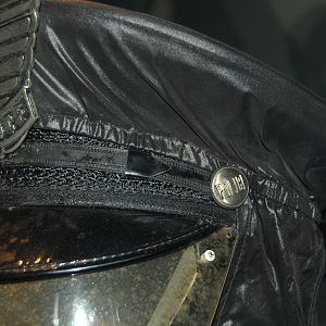 police man cap/helmet and badge