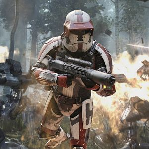 Havoc Squad Trooper by Balgosa