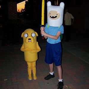 IT'S ADVENTURE TIME!