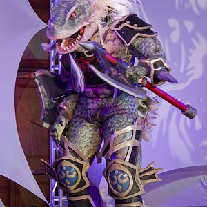 Soul Calibur III Lizardman Aeon Calcos