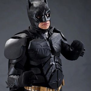 my first foam build, Dark knight costume
