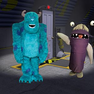 Monsters Inc. - Sulley and Boo